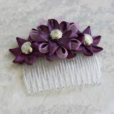 plum wedding plum hair accessories plum wedding hair comb plum bridesmaid