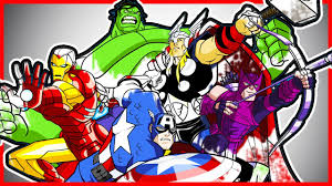 avengers superheroes coloring pages ft hulk ironman thor lets
