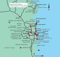 aussie map tourist map coast australia