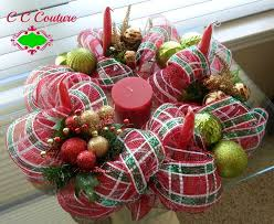 Christmas Advent Table Decoration by 64 Best Christmas Candle Decorating Images On Pinterest Candle