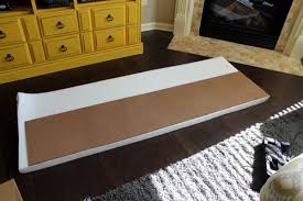 How To Make Bench Cushions Easy The Easiest Diy Upholstered Bench Today U0027s Creative Life