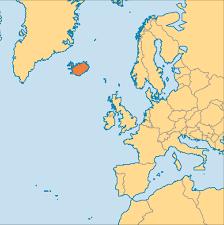 Iceland On Map Iceland Operation World