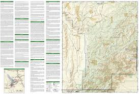 Guadalupe Mexico Map by Guadalupe Mountains National Park National Geographic Trails
