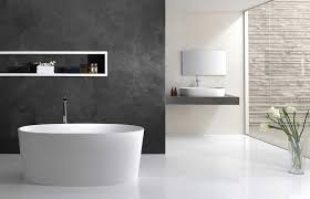 Bathroom White Porcelain Flooring Stainless by White Wall Paint Ceramic Backsplash Tile Stainless Steel Faucet