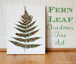 fern leaf christmas tree art christmas tree art tree art and fern