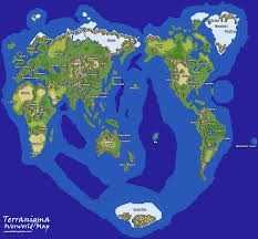 Ffvii World Map by Best World Map In A Game Page 3 Neogaf