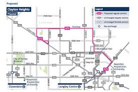 Las Vegas Transit Map by Updated And Map New Bus Route Coming Into Langley This Fall