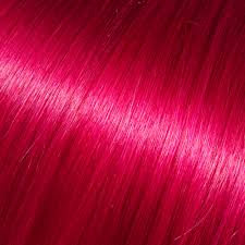 Red Tape Hair Extensions by Human Single Clip In Hair In Dark Fuchsia Buy Human Hair