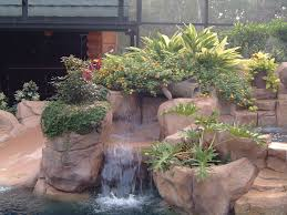 Rock Garden Planters by Rock Planters Natural Springs Pools Part 2