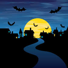 Free Halloween Vector Art Halloween Night Card Vector Free Vector 4vector