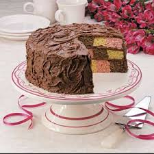 checkerboard birthday cake recipe taste