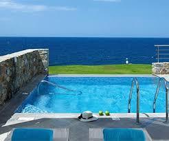 hotel piscine dans la chambre hôtel sensimar royal blue resort spa adults only crète oit