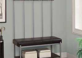 Entryway Hall Tree by Bench Entryway Coat Rack And Storage Bench Awesome Hall Tree
