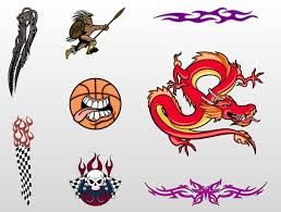 cool tattoo designs to draw free backgrounds free vector