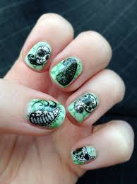 medium rectangular personalised nail art stamp plates custom