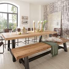Wood And Metal Dining Tables Google Search Decorating Ideas - Metal dining room tables