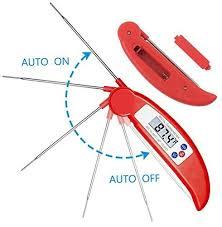 sonde de temperature cuisine avax dt x digital lcd alimentaire thermomètre sonde de cuisine