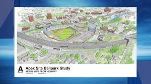 Fenway Map Pawsox Say New Stadium Would Replicate Fenway Wjar