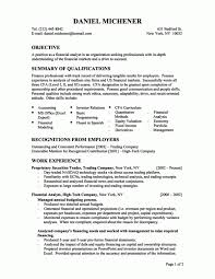 Finance Resume Sample Financial Analyst Resumes Financial Advisor Resume Example A