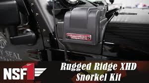 nsf1 project jeep part 22 rugged ridge xhd snorkel kit youtube