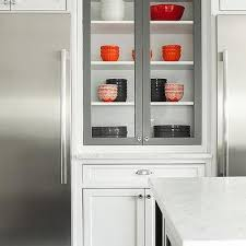 Kitchen Display Cabinets Kitchen Glass Front Display Cabinet Design Ideas
