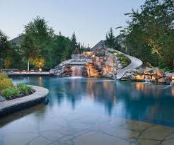pool landscaping ideas backyard swimming pool landscaping ideas of design accent lights 1