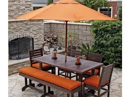 Mainstays Wicker 5 Piece Patio Dining Set Seats 4 - patio 63 patio dining set with umbrella patio furniture