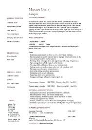 sample resume format for experienced candidates human resources