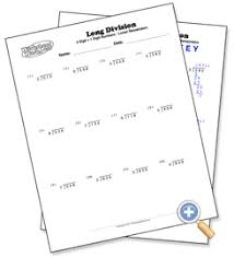 1 digit with 3 digit numbers long division with remainders
