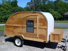 amazing small camp plans 2 teddybear teardrop trailer woody3 jpg