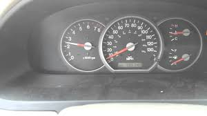 2004 kia sedona speedometer problem youtube