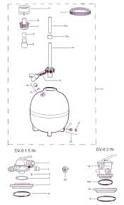 parts for jacuzzi brand swimming pool filters