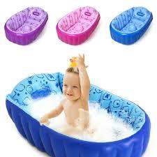 Inflatable Baby Bathtub India 2017 Retail Inflatable Baby Bathtub Newborns Bathing Tub Eco