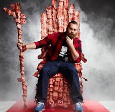 Bacon Strips And Bacon Strips Meme - harley s bacon throne epic meal time know your meme
