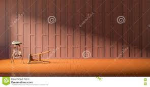 3d rendering interior local thai style stock illustration image