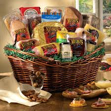 Gift Baskets With Free Shipping Meat Gift Baskets Free Shipping Cheese And International Delivery
