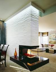 Best   Sided Fireplace Ideas On Pinterest Modern Fireplace - Design fireplace wall