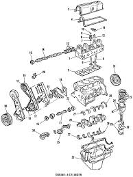 parts com ford engine short block w turbo partnumber e4zz6009a