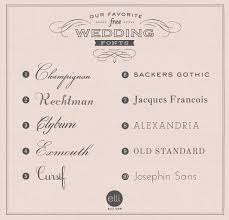 wedding invitations font our favorite free wedding fonts freebies printables fonts