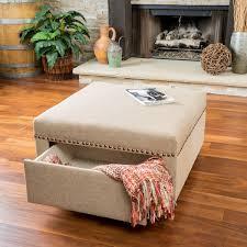 square ottoman with storage design u2014 home ideas collection