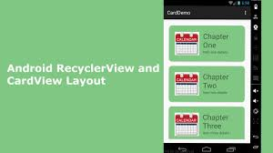 layouts for android android recyclerview and cardview layout delaroy studios channel