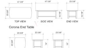 normal dining table height average end table height dining room table for dimensions standard