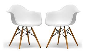 Molded Plastic Armchair Eames Inspired Molded Plastic Chair Sit Socialize And Enjoy