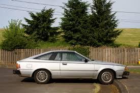 hatchback cars 1980s old parked cars 1980 datsun 200sx