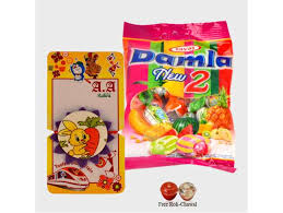 where to buy candy online buy rabbit with carrot rakhi damla candies gifts online