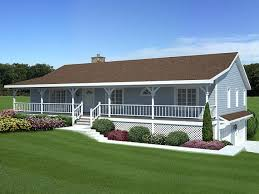 Small Home Plans With Porches Small House With Ranch Style Porch Plans Front Porches And Momchuri