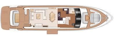 Luxury Yacht Floor Plans Princess 88 Motor Yacht Princess Motor Yacht Sales