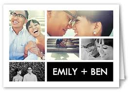 picture collage 3x5 folded card thank you cards shutterfly