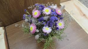 dried flower arrangement rustic wedding decor floral arrangement