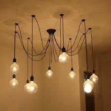 Light Bulb Chandelier Diy Exceptional Urban Industrial Chandelier Edison Bulb Chandelier